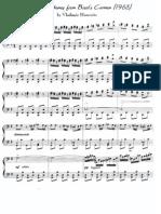 Horowitz Bizet Carmen variation