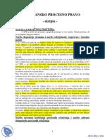 Gradjansko Procesno Pravo-Skripta-Pravosudni Ispit PDF
