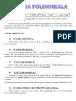 Functia Polinomiala