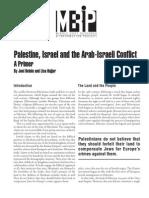 Palestine-Israel Primer