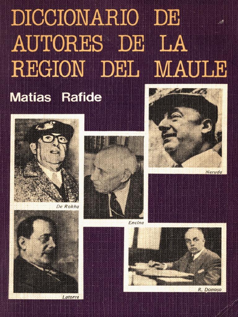 Diccionario de autores de la Región del Maule