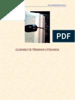 Glosario de Terminos Literarios