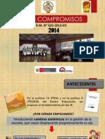 Compromisos de Gestion Ugel Puno-2014