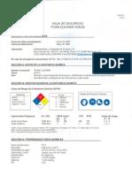 Pl Hoja de Seguridad Limpiador Para Condensadores Acido