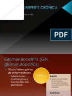 Glomerulonefritis Crónica