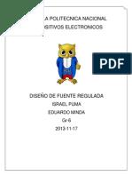 DISEÑO DE FUENTE REGULADA 15 V