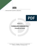 EAD 500 Formacao Humanistica
