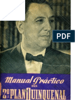 Segundo Plan Quinquenal, Manual práctico.