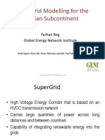 Supergridmodelling Farhan Beg