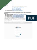 Cara Pengisian Blog KKN - Google Drive