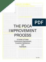 The PDCA Improvement Process