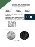 TAMAÑO DE GRANO ASTM E 112