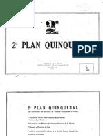 Segundo Plan Quinquenal. 1953
