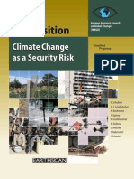 Book - Climate Change as a Security Risk Climate Change as a Security Risk