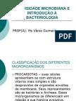 Unid2-DIVERSIDADE MICROBIANA E INTRODUÇÃO À BACTERIOLOGIA