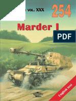 Wydawnictwo Militaria 254 - Marder I Poprawiony