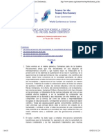 UNESCO - Conferencia Mundial sobre la Ciencia  Declaracioìn sobre la Ciencia