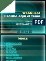 WebQuest-Formato