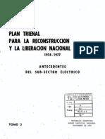 Plan trienal para la reconstrucción y liberación nacional 1974-1977, tomo 3