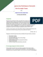 Strategi Pengajaran Dan Pembelajaran Matematik
