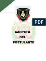Carpeta de Postulante a La Ets-pnp 2013-II