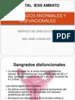 Sangrados Anormales y Disfuncionales4154