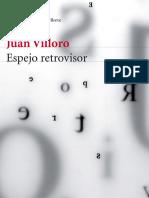 """Fragmento del libro """"Espejo retrovisor"""" de Juan Villoro"""