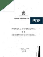 Conferencia de Ministros de Hacienda. 1946