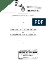 Conferencia de Ministros de Hacienda. 1949