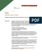 Tata Nano - Case Study