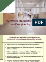 Prevenirea Incendiilor La Unitati Sanitare Si de Ingrijire