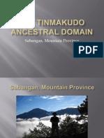 Tinmakudo Ancestral Domain Dev Com