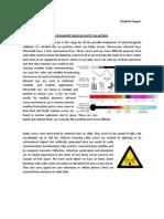 Electromagnetic Spectrum Physics Report