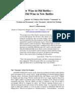 New Wine in Old Bottles or Old Wine in New Bottles (Rama P. Coomaraswamy).pdf
