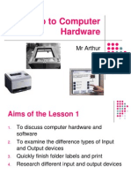 Intro to Computer Hardware