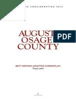 Osage County Script