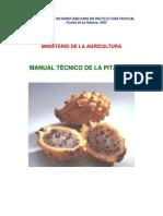 Manual Tecnico de La Pitahaya