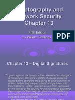 L13 - Digital Signatures