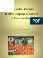 On Race and the Foremost Disciples of the Buddha