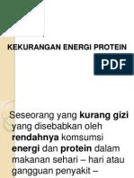 Kekurangan Energi Protein Presentation