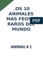AnimalesRaros