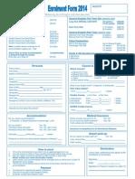 LSNZ Enrolment Form 2014