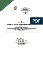 La ciudad de México hacia una ciudad global (1)