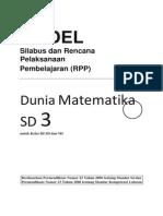 31459151 Rpp Matematika Sd Kelas 3
