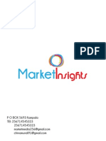 Market INSIGHTS profile