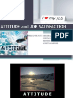 attitude job satisfaction-