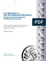 U.S. RESPONSES TO
