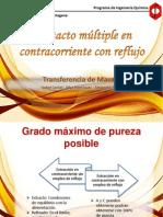4.A. CONTACTO MÚLTIPLE EN CONTRACORRIENTE CON REFLUJO 2