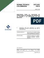 NTC-ISO 10019