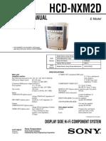 HCD-NXM2D